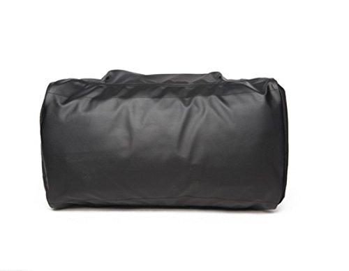LAIDAYE Für Reisen Koffer Gymnastik-Sport-Camping - Leicht Faltbare Sporttasche Fitnesstasche Große Kapazität Handtasche Black