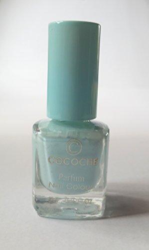 NEW Nail Art cocoche Parfum Bleu clair avec vernis à ongles Vanilla Parfum/Arôme de vanille Nail Colour