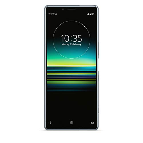 sony xperia 1 128 gb smartphone (16, 5 cm (6, 5 pollici) oled display, triple camera, ip65/ip68, 6 gb ram, android 9)  [italia] grigio