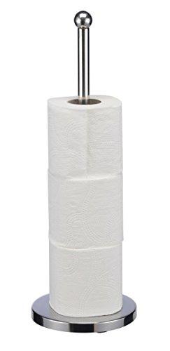 SIDCO Toilettenpapierhalter Reservehalter Ständer Verchromt 4 WC  Ersatzrollen