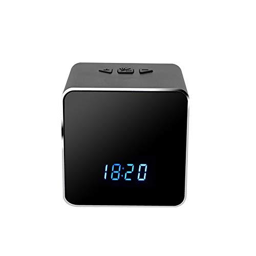 WiFi Tabella Orologio Baby Monitor 4K da 12 megapixel HD IP P2P DVR videocamera di Allarme IR Visione Notturna sensore di Movimento