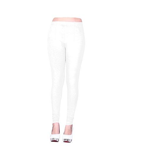 Vatsla Enterprise Women\'s Cotton XL Leggings(Leggingsxl001_white)