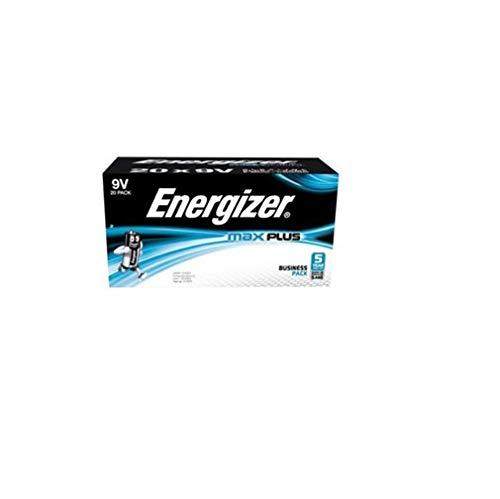 Energizer Max Plus Alkaline-Batterien, 9 V, 20 Stück Energizer Max 9v Batterien