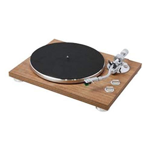 Teac TN-400BT HiFi-Plattenspieler (Schallplattenspieler, Riemenantrieb, DREI Abspielgeschwindigkeiten 33/45/78rpm, Bluetooth, USB für PC-Aufnahmen, MM-Tonabnehmersystem) Walnuss