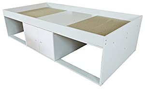 Low Sleeper Cabin Storage Bed