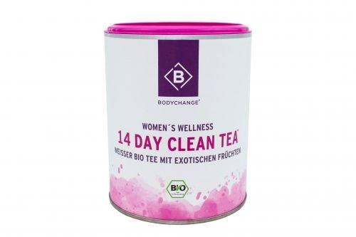Original BodyChange 14 Day Clean Tea - Weißer Tee mit Früchten - Bio Tee - Wellness Auszeit (50g) (Natürliche Flüssigkeitshaushalt)