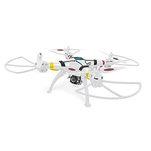 Jamara 422014 – Payload Altitude FHD Wifi AHP Plus Kamara Quadrokopter, weiß