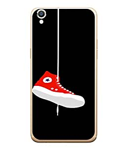 Snapdilla Designer Back Case Cover for Oppo F1 Plus :: Oppo R9 (Star White Casual Sport Air Skating Running Walk)