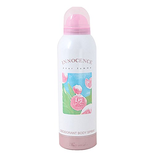 Rasasi Innocence Pour Femme Deodorant 200 ml With Free Ayur Soap  available at amazon for Rs.265
