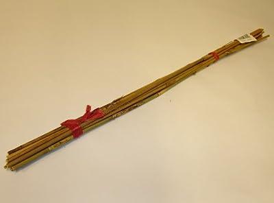 Tonkin Bambusstock Bambustab Bambus Holzstab Pflanzstütze Rankstab Rankhilfe Stab Pflanzstab 60 cm, 4x10 Stk. von Lucht bei Du und dein Garten
