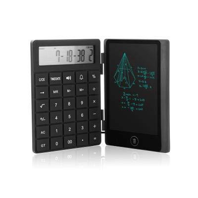 Faltrechner Zeichnung Board 6-Zoll-LCD-Zeichnung Board Spielen Verfahren Sperre Bildschirm Handschrift Inhalt in Englisch - schwarz