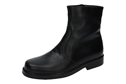 MADE IN SPAIN 501 Bota Piel Borrego Hombre Botas-Botines Negro 42
