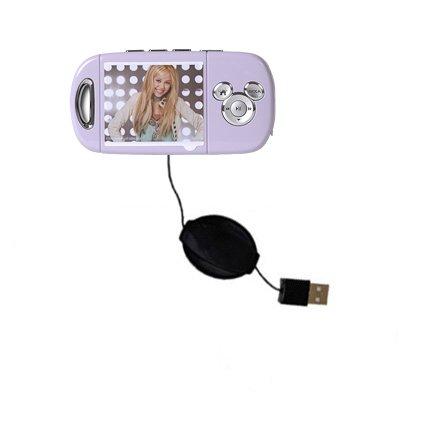 Das ausziehbare Lade über USB für Disney Hannah Montana Mix Stick MP3 Player DS17032 Erfüllt beide Funktionen