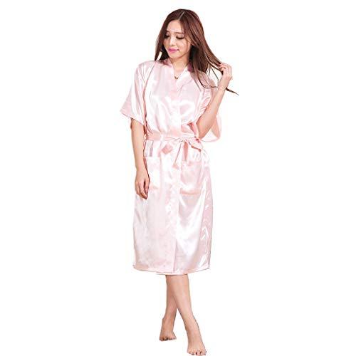 Sommersimulation Seide Nachthemd Langen Abschnitt Langarm Home Service komfortable Dünnschliff Pyjama Paar Modelle