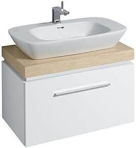 keramag silk waschtischunterschrank 816082 80x40x47cm weiss baumarkt. Black Bedroom Furniture Sets. Home Design Ideas