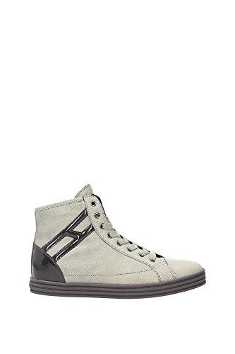 HXW1820E2314PY359X Hogan Sneakers Femme Cuir Beige Beige