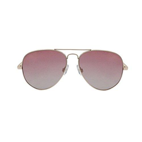 OCEAN SUNGLASSES - Banila aviator - lunettes de soleil en MÃBlackrolltal - Monture : DorÃBlackroll - Verres : Rose (18110.12)