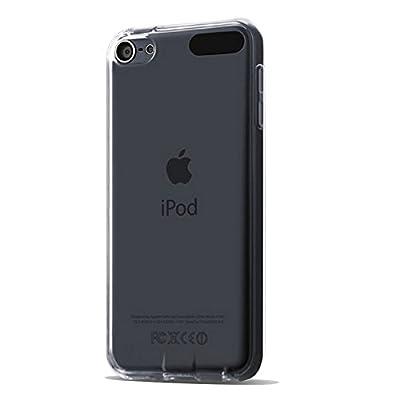 Coque iPod Touch 6 5, AILRINNI Etui Silicone Transparent TPU [Souple Gel] Housse de Protection avec Absorption de Choc pour iPod Touch 6/5 Génération de AILRINNI