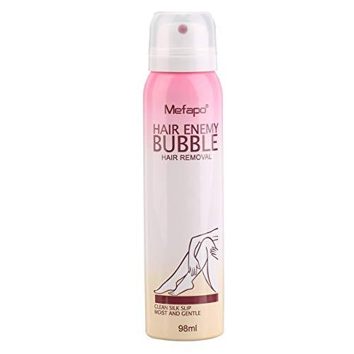 EdBerk74 Natural Hair Removal Cream For Men & Women Painless Permanent Hair Removal Spray Gentle Bikini Depilatory Bubble