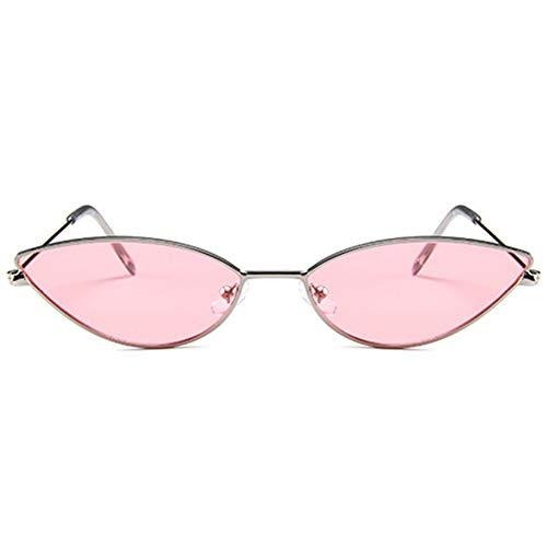 CCGKWW Nette Reizvolle Katzenauge-Sonnenbrille-Frauen-Retro- Kleine Schwarze Rote Rosa Cateye-Sonnenbrille-Weibliche Weinlese-Schatten Für Frauen