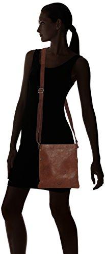 Sansibar Levante, Borsa a tracolla donna Marrone (Braun (Brandy))