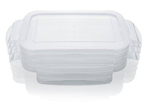 Ersatz Snap Sperren Deckel für Otis Classic Glas Meal Prep Food Container Klauenhammer Größe-4Deckel