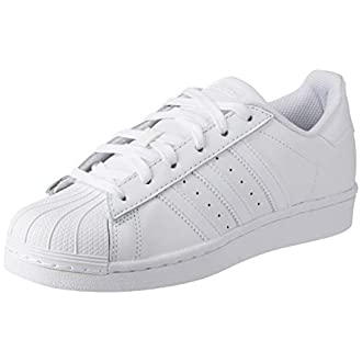 adidas Superstar Foundation, Men's Trainers, White (Ftwr White/Ftwr White/Ftwr White), 10.5 UK (45 1/3 EU)