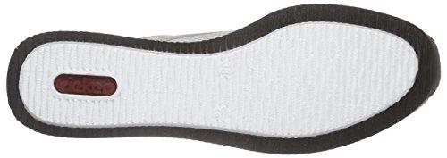 Rieker - 56020 Women Low-top, Scarpe da ginnastica Donna Grigio (Grau (grey/grey/schwarz / 41))