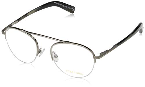Tom Ford Herren Brille FT5451 012 48 Brillengestelle, Grau,