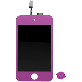 For iPod Touch 4th Gen LCD Display Screen & Digitizer Glass assemble Panel + Free tools and Adhesive
