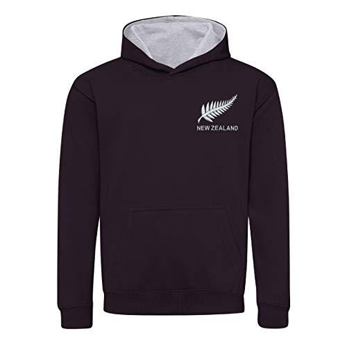 Printmeashirt Niños Retro New Zealand Rugby Sudadera