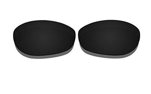 Schwarz Polarisierte Ersatz Gläser für Oakley Monster Dog Sonnenbrille