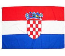 Fahne, Seidenfahne, Flag, Flagge, 90 x 150 cm Kroatien, Hrvatska, Croatia