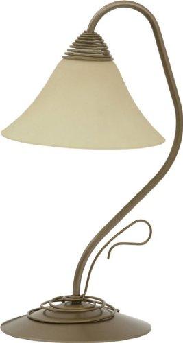 VICTORIA gold I Klassisches Design Tischlampe Tischleuchte