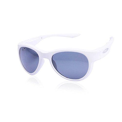 iTrois Drahtlose Musik - Sonnenbrille Mit Bluetooth 4.0 Hifi - Kopfhörer Für Iphone 6 / 7, Samsung Galaxy - Smartphones Und Pc - Tablets, Leicht Für Männer / Frauen - Weiße