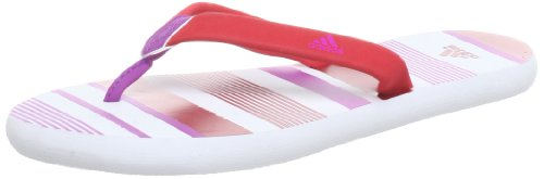 adidas Performance Chilwa 2 W Q23229, Infradito donna Rosso (Rot (Running White Ftw / Vivid Red S13 / Vivid Pink S13))