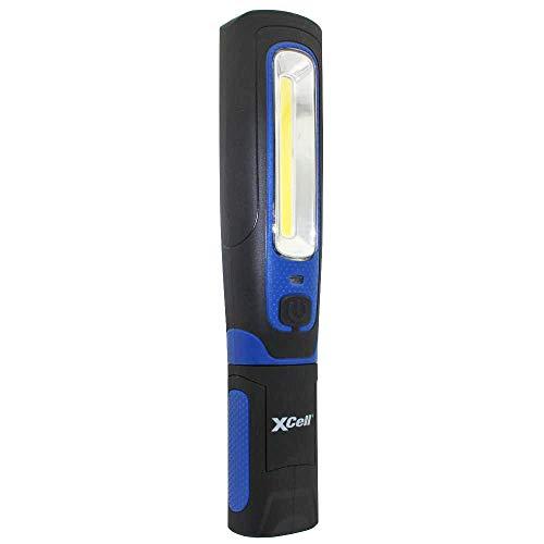 XCell worklight Spin lampada da lavoro a LED girevole a 360° e 180° inclinabile 3Watt COB LED con Max. 280Lumen