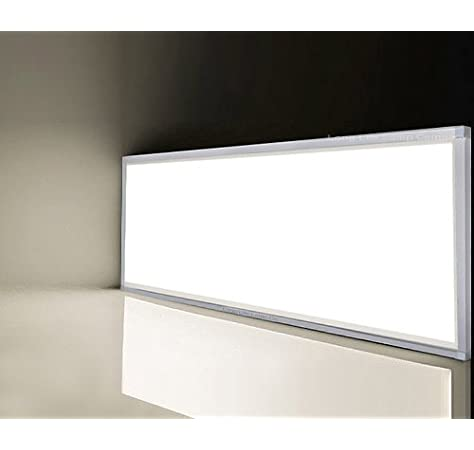 Le 40w Led Panel 1200x300 80w Fluorescent Tube Equivalent 4000lm Daylight White Recessed Or Suspended Ceiling Light Amazon Co Uk Lighting