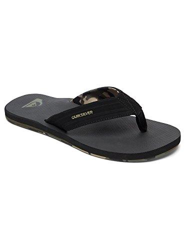 Quiksilver Island Oasis - Sandals - Sandalen - Männer - EU 44 - Schwarz (Cottage Island)