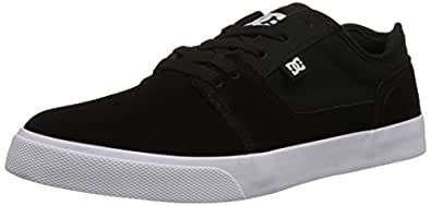 DC Men's TONIK Shoe, Black/White/Black, 10 D US