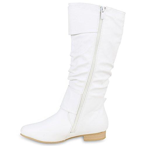 Stiefelparadies - Stivali Donna Bianco