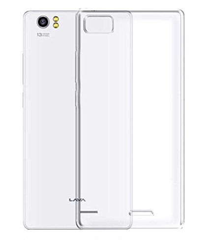 Evoque Transparent Back Cover For Lava Iris X8  available at amazon for Rs.125