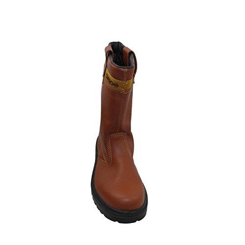 Cargo barbe sA s3 chaussures berufsschuhe businessschuhe chaussures bottes chaussures marron Marron - Marron