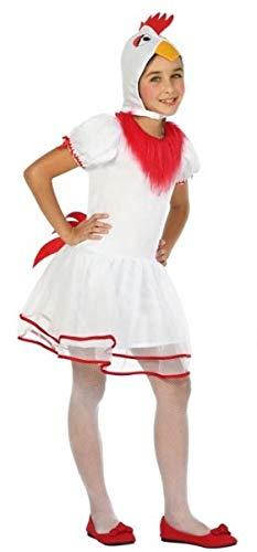 Fancy Me Kostüm für Mädchen/Jungen, weißes Huhn, Bauernhof, Tiere, Ente, Vogel, Weihnachtskrippe, 3-12 (Junge Vogel Kostüm)