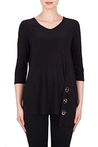 Joseph Ribkoff Women's Top Style 191080 Black - Joseph A Damen Pullover