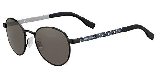 Hugo Boss Herren Sonnenbrille schwarz Schwarz