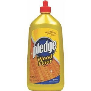 Johnson Wax 81316 Pledge Wood Floor Cleaner 27 Oz. - Case Of 6  available at amazon for Rs.6083