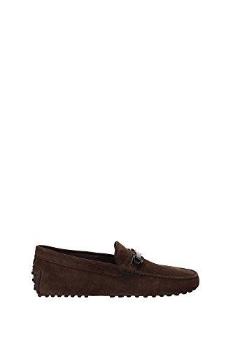 XXM0EO0N653SUWS804 Tod's Loafers Herren Wildleder Braun Braun