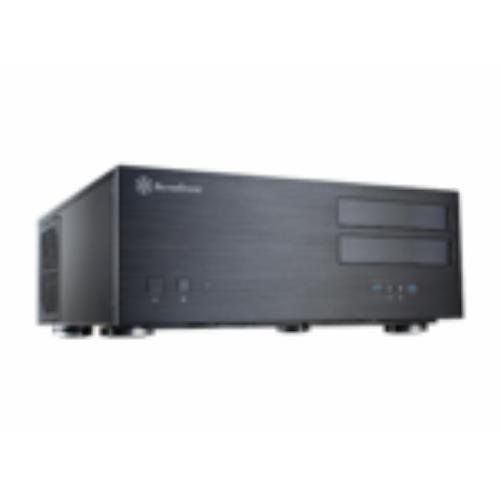 Silverstone SST-GD08B USB 3.0 - Grandia GD08 Home Theatre Server Case - Black (SST-GD08B USB 3.0)