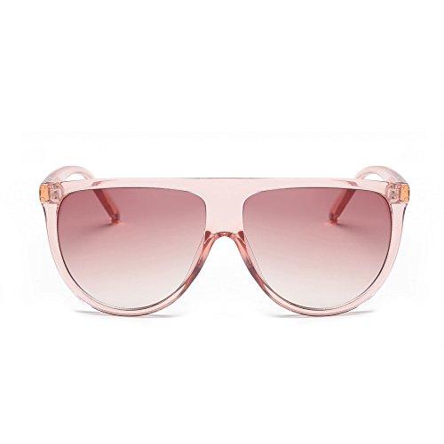 DAY.LIN Sonnenbrille Damen Herren Mode Unisex Vintage Shaded Objektiv dünne Brille Mode Flieger Sonnenbrille (C)